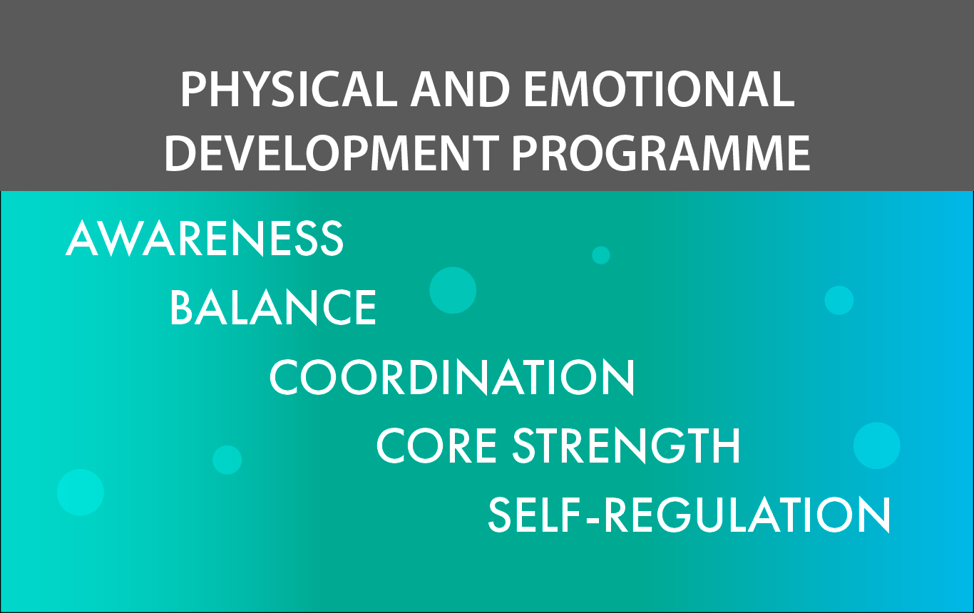 Physical and Emotional Development - Awareness, Balance, Coordination, Core Strength and Self-Regulation